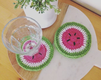 Watermelon Coaster set of 4