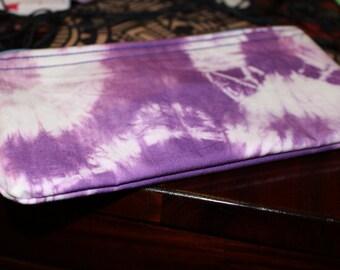 Tye dye pencil case, thick.