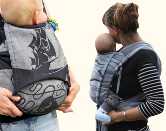 eBook Baby Carrier 'Carry with Love' AnniNanni PDF Sewing Pattern - fullbuckle - halfbuckle - toddler carrier
