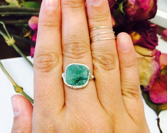 Sea of Love Druzy Ring