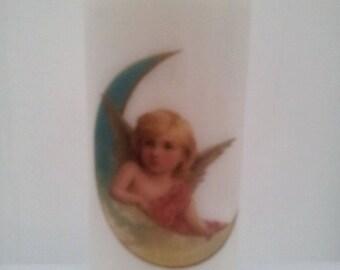Vintage Angel Candle