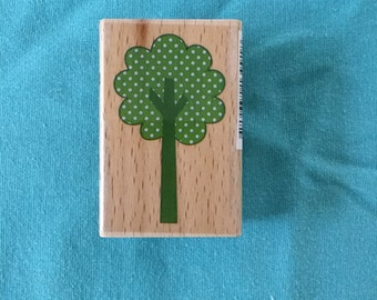 Polka Dot Tree Stamp
