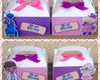 Doc McStuffins favor boxes