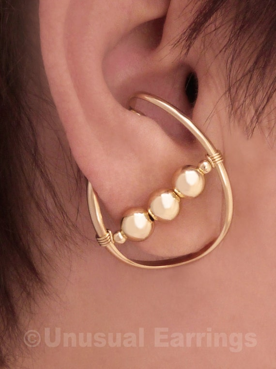 gold filled unpierced earrings non pierced ear cuff gold filled unpierced earrings non pierced earrings ear 9116