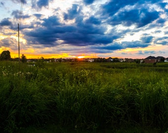 Painted Prairie Skies