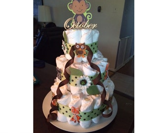 Diaper Cake for Baby