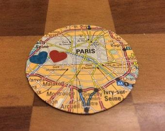 Unique 'City Love' Map Magnets