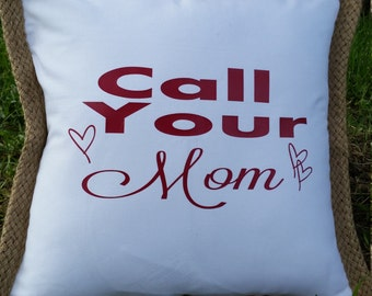 Couch or bed pillow cover ~ personalized