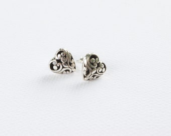 Celtic 925 Sterling Silver stud earrings