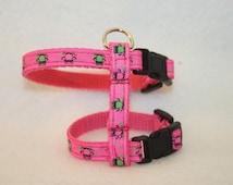 Owls, pink, ferret, ferret harness, harness, ferret, Frettchengeschirr, accessories, pink