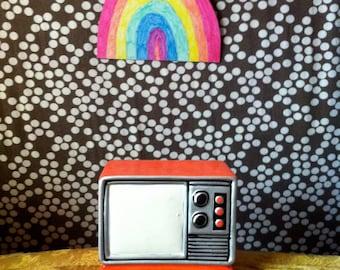Vintage TV figurine
