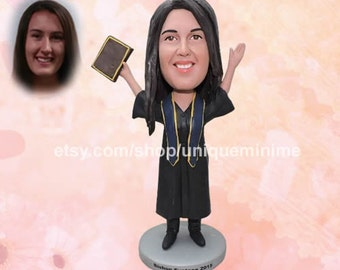 Custom Figurine Bobblehead dolls Girlfriend   Birthday Gift Ideas Girlfriend Birthday Gift Gift for Her Romance Wedding Couple