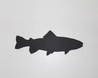 Handmade Chalkboard Fish