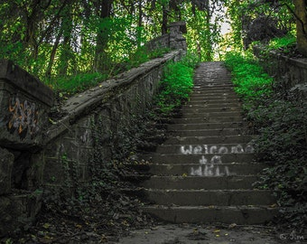 Welcome to Hell, Abandoned Stairway, Ilchester, MD