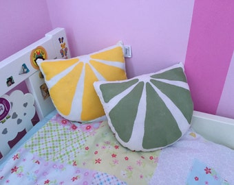 Lemon Slice Cushion