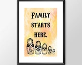 Family Starts Here - A fu...