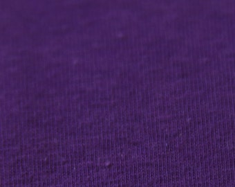 KNIT Fabric: Solid Purple Cotton Lycra knit