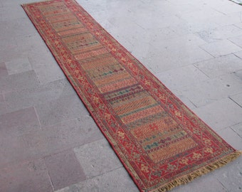 Items Similar To CUSTOM Hallway Runner Rag Rug From Upcycled Fabrics Made To