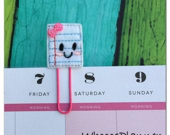 Paper Planner Clip, Bookmark, paper clip, planner accessories, page clip, paperclip, planner paper clip, felt planner clip