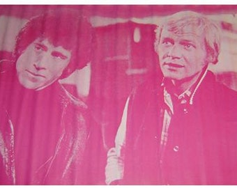 Vintage 1970s~STARSKY AND HUTCH~In The Pink Poster
