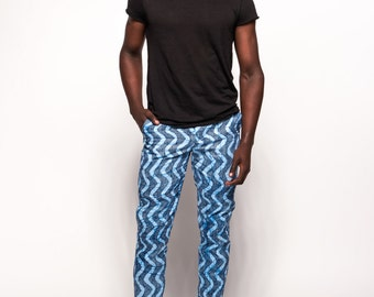 Woodin African Print Pants