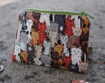 Cat Coin Purse or Pencil Case