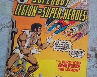 Vintage DC Comics SuperBoy and the Legion of Super Heroes -  Featuring Tyroc Vol. 28 No. 261  April 1976.