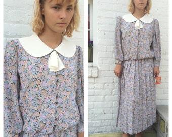 Vintage 1980s Suit Dress