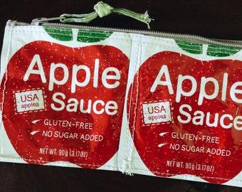 Apple Sauce Zipper Pouch