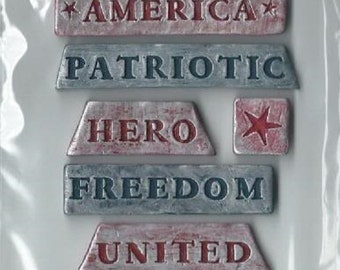 Inspirables - Stone Stickers - Freedom