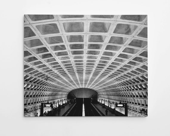 Washington Dc Wall Art washington dc metro photograph city photography washington