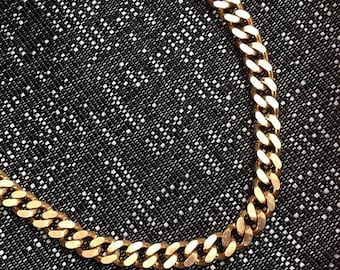 The Queens Chunky Gold Chain Necklace// Chunky Gold Chain, Solid Brass Chain Necklace, Chunky Chain, Urban, Fall Jewelry, Festival Jewelry