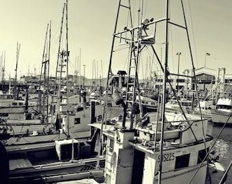 Fishing Boats Print