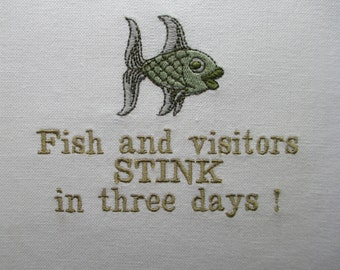 117 Fish & vistors stink