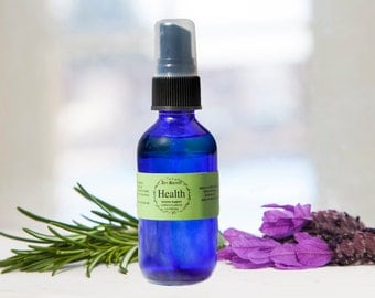 HEALTH SPRAY - Antibacterial, Antiviral, Immune Support, Prevents Flu, Cleans Air