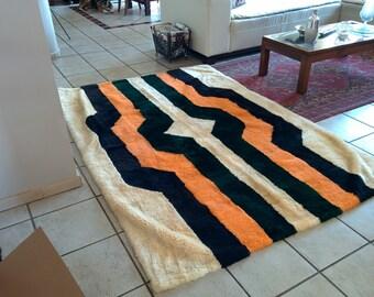 Lamb fur rug