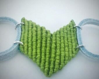 Macrame arrow bracelet/anklet/cuff