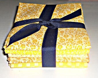 Fat Quarters (5) - Yellows