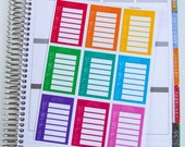 9 Step Tracker Stickers For Planners