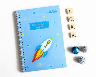 Little Muslim's Notebook, Boys Islamic Stationery Diary