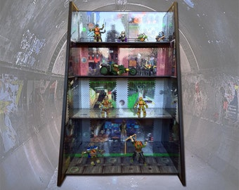 Teenage Mutant Ninja Turtles Play and Display to show off all your Collectibles