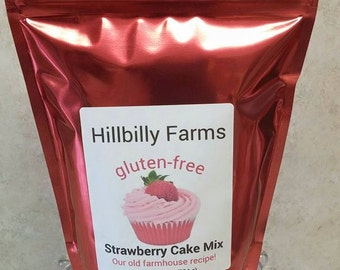 Gluten Free Strawberry Cake Mix