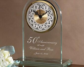 Everlasting Love Anniversary Clock
