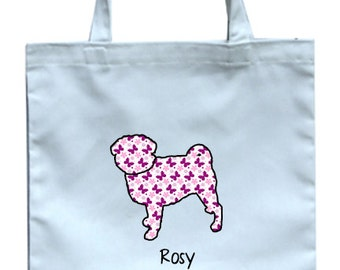 Customized Silhouette Tote Bag