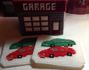 Garage Village Coaster Holder