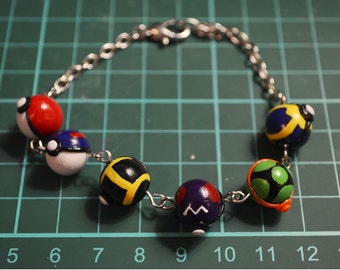 Custom Pokeball Bracelet
