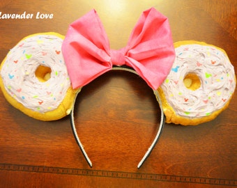 Donut Be Out of Style Ears- Donut Mickey Mouse Ears - Customized Ears