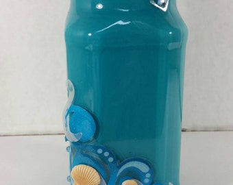 Beach Inspired Vase or Pencil Holder