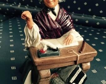 Reduced! Royal Doulton figurine, Schoolmarm, HN 2223