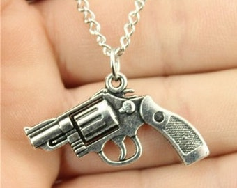 She's a Pistol Necklace